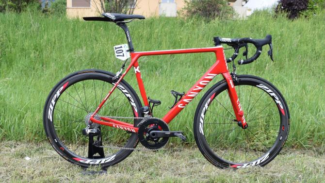 Ilnur Zakarin's Canyon Ultimate CF SLX