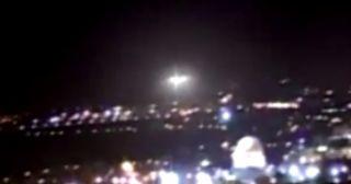 Jerusalem's dubious UFO.