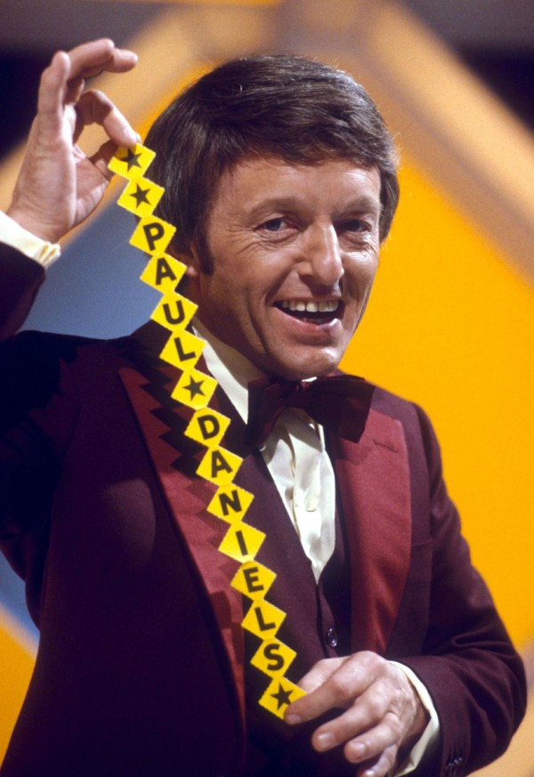 Comedian and magician Paul Daniels