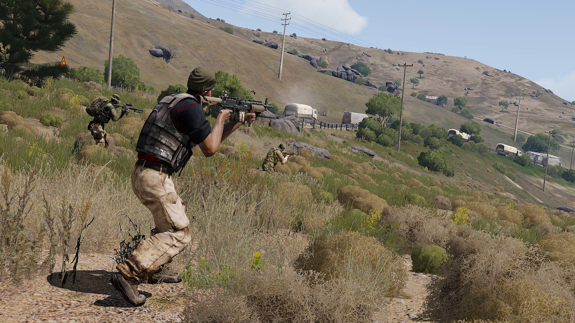 Arma 3 adding new singleplayer scenario this year, wants third-party