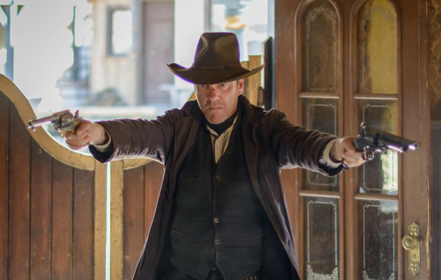 forsaken review kiefer  donald saddle    western