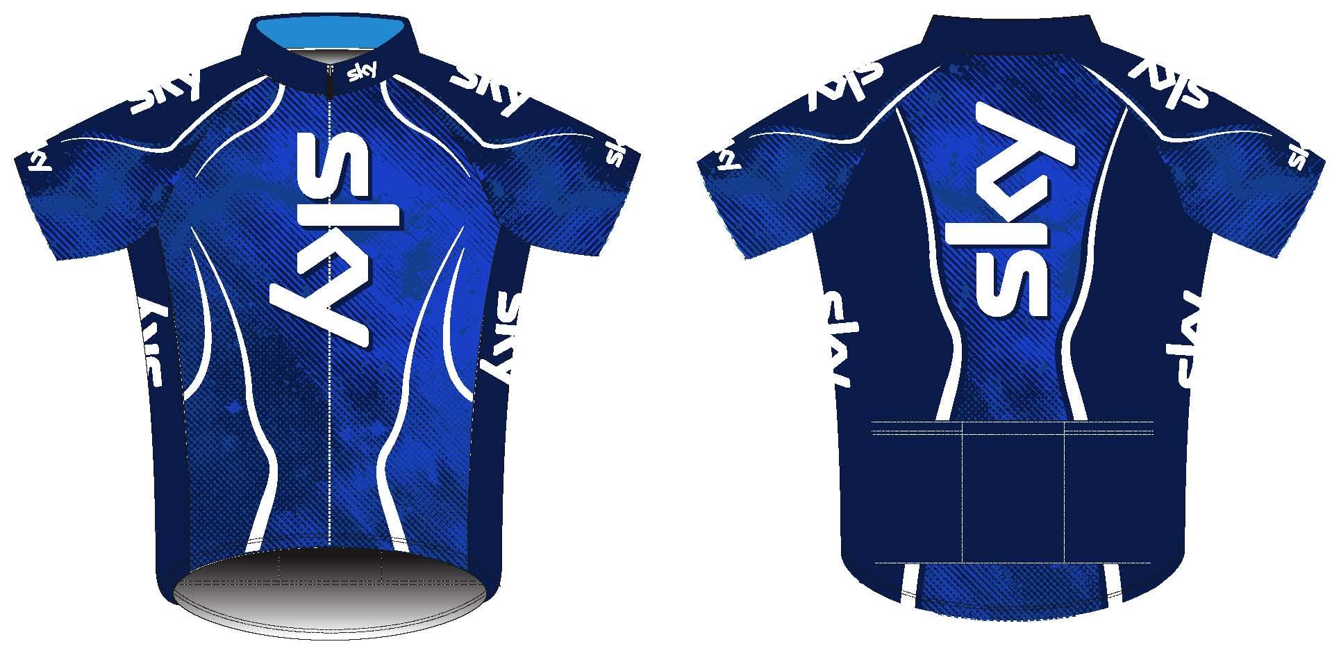 Durbin Sky jersey