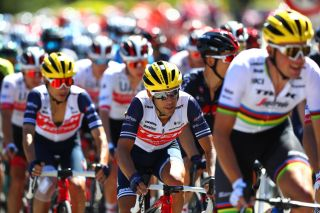 Trek-Segafredo's Richie Porte stayed well in contention in the general classification by finishing in the front group of 16 riders at the finish of stage 4 of the 2020 Tour de France at Orcières-Merlette
