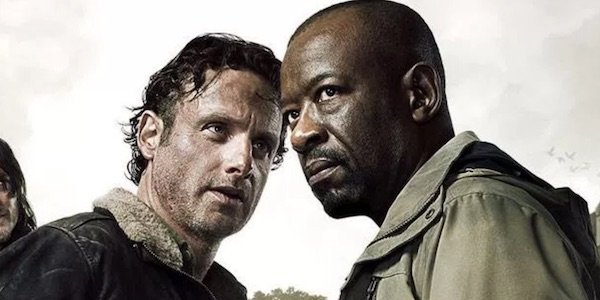 Morgan and Rick in a Walking Dead poster