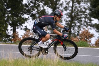 Michal Kwiatkowski during stage 2 of Tirreno-Adriatico 2021