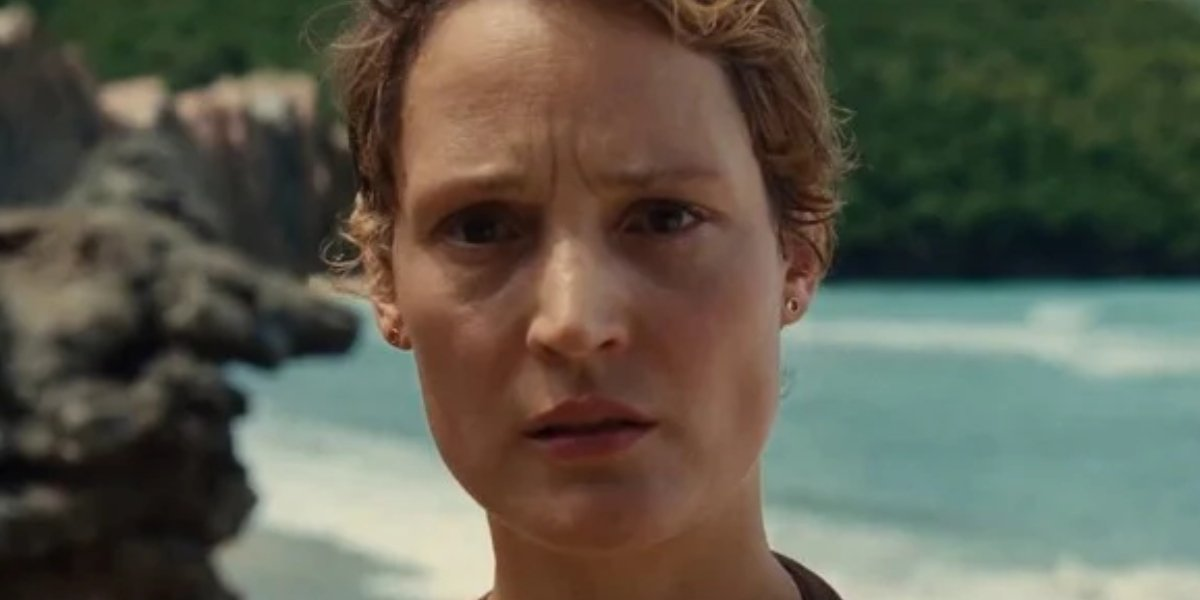 Vicky Krieps as Prisca in Old