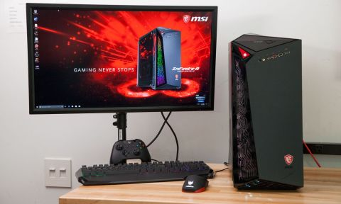 MSI Infinite Review: A Truly 'Lit' Gaming PC | Tom's Guide