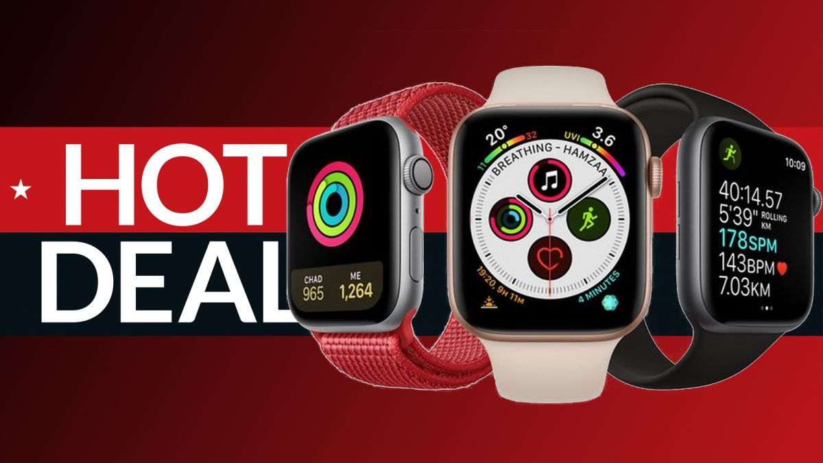 This Apple Watch Series 5 deal is the cheapest you'll find today