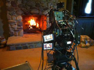 Comcast Yule Log Goes 3d Tv Technology