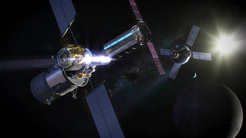 NASA Wants Ideas for Private Cargo Ships to Supply a Lunar Gateway