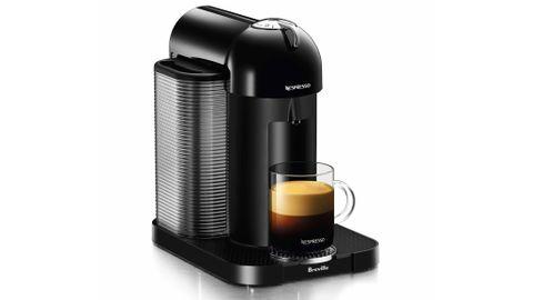 A Nespresso Vertuo by Breville espresso machine