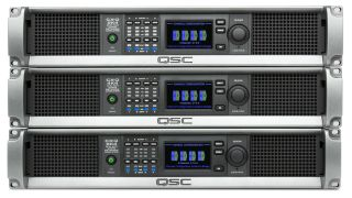 QSC has introduced the CX-Q Series of four- and eight-channel amplifiers that offer drag-and-drop integration with Q-SYS.
