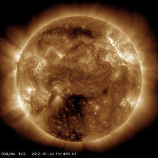 stormy sun