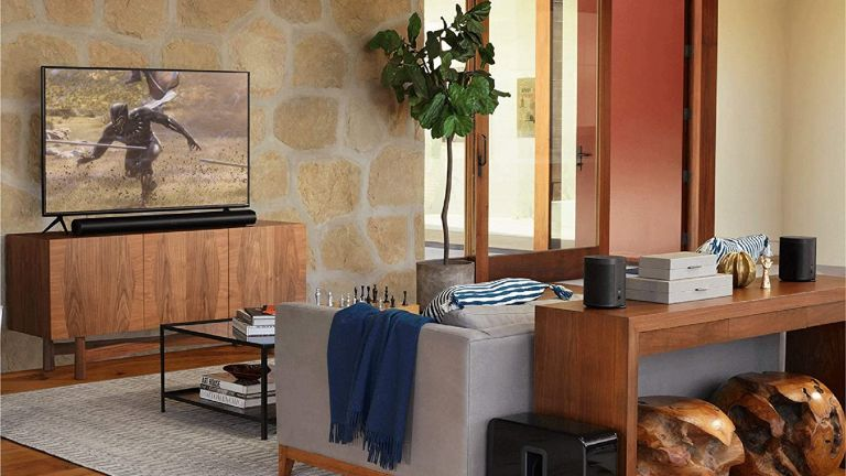 best soundbar: Sonos Arc in living area