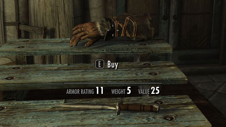 Most sensible Skyrim mod ever lets you buy stuff right off