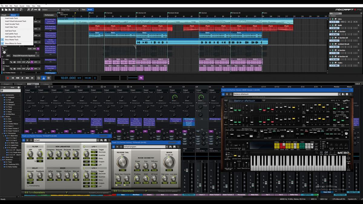 Acoustica Mixcraft 9 Pro Studio review | MusicRadar
