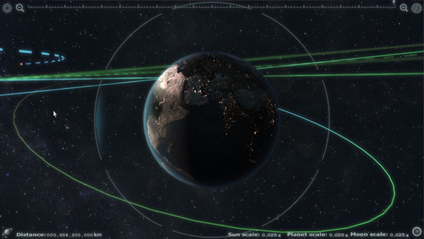 Explore The Solar System With Unreal Engine App #21704
