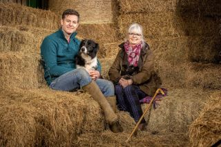 Our Farm in the Dales Matt Baker and mum Janice.