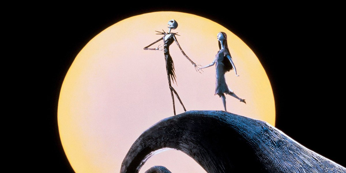 The Nightmare Before Christmas poster shot