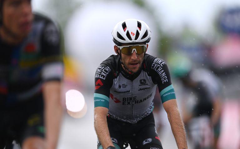 Simon Yates finishes stage six of the Giro d'Italia 2021