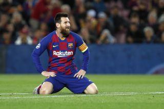 Spain Soccer Barcelona Messi