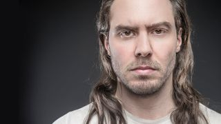 A portrait of Andrew WK
