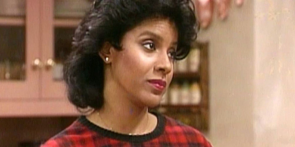 Claire Huxtable glares on The Cosby Show (1984)