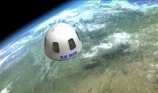 Blue Origin Passenger Capsule