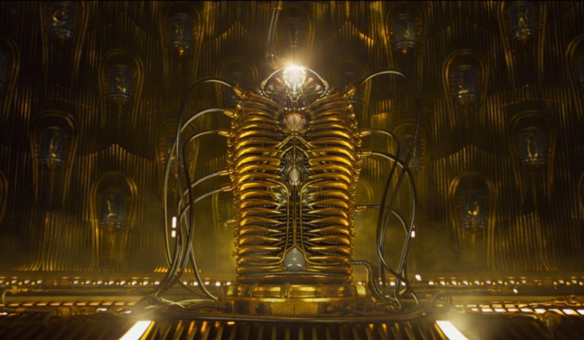 Adam cocoon in Guardians of the Galaxy Vol. 2
