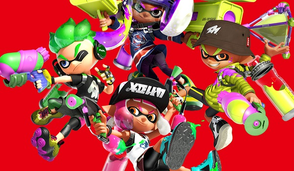 The Squid Kids are ready to paint the town
