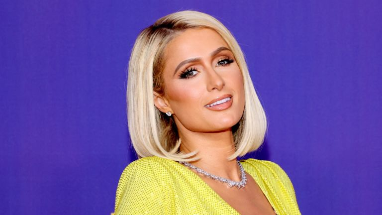 Paris Hilton attends the 2021 MTV Movie & TV Awards: UNSCRIPTED in Los Angeles, California.