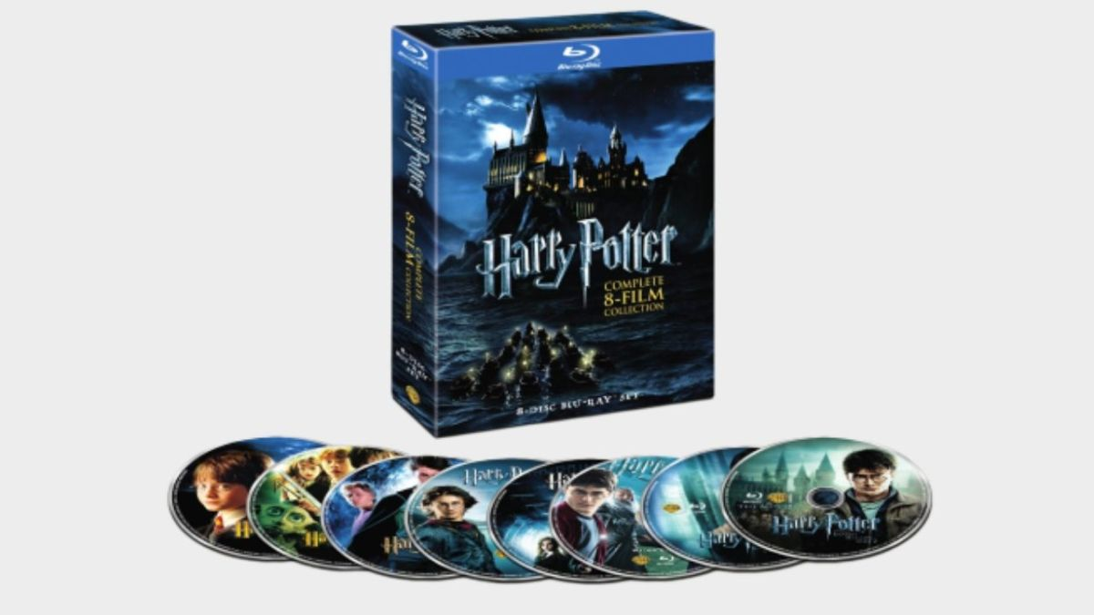 Get all eight Harry Potter movies on Blu-ray for just $40 in this pre-Black Friday Walmart deal - GamesRadar