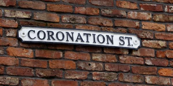The Coronation Street sign