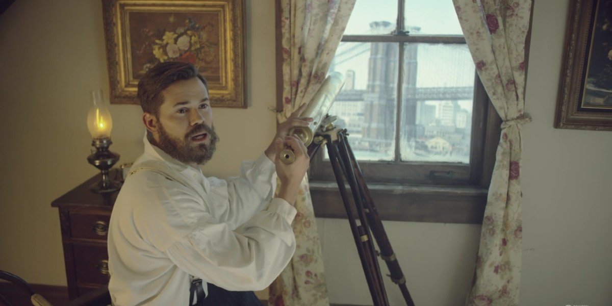 Andrew Rannells in Drunk History