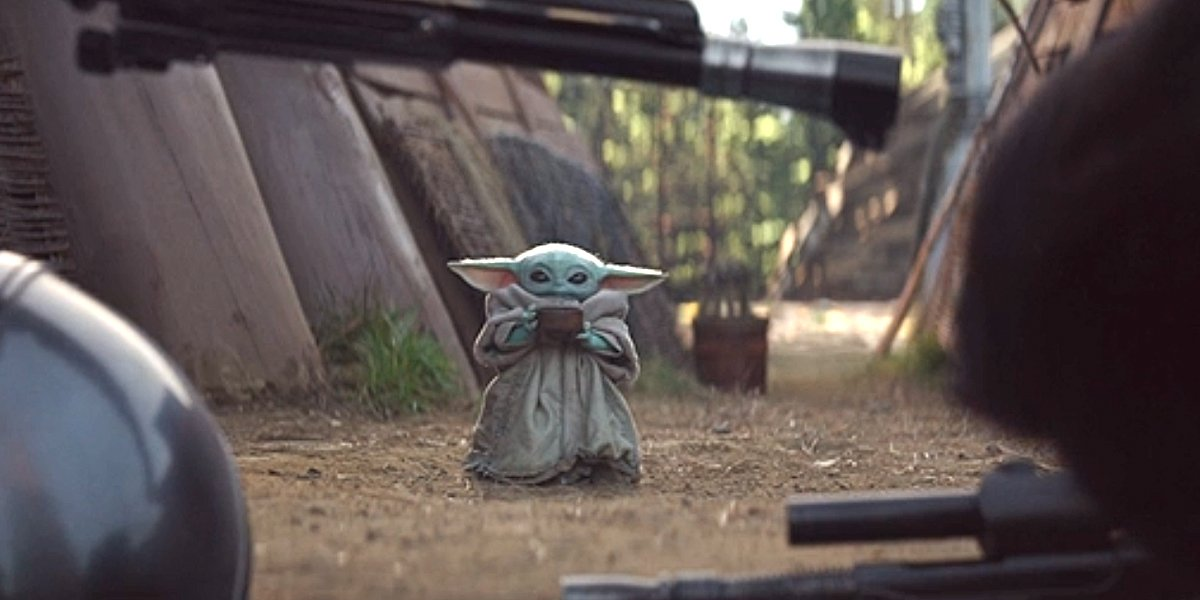 The Mandalorian Wanted 'A Zillion Takes' Of Baby Yoda Sipping In Different Ways And We Need Them All