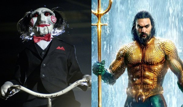 Billy The Puppet from Saw Jason Momoa in Aquaman