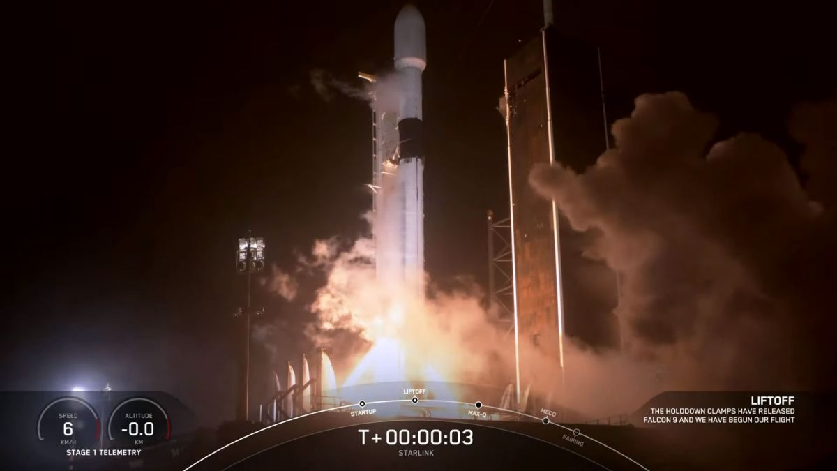 SpaceX Falcon 9 rocket launches and lands for 8th time, delivering 60 Starlink satellites to orbit
