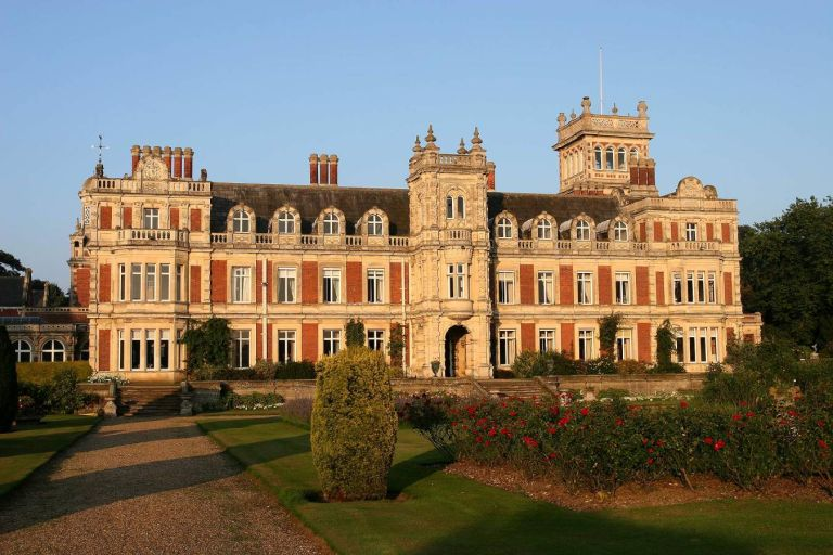 Somerleyton Hall is the set location for The Crown's Sandringham Estate