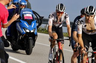 Giro d'Italia 2020 - 103rd Edition - 15th stage Base Area Rivolto (Frecce Tricolori) - Piancavallo 185km - 18/10/2020 - - photo Luca Bettini/BettiniPhoto©2020