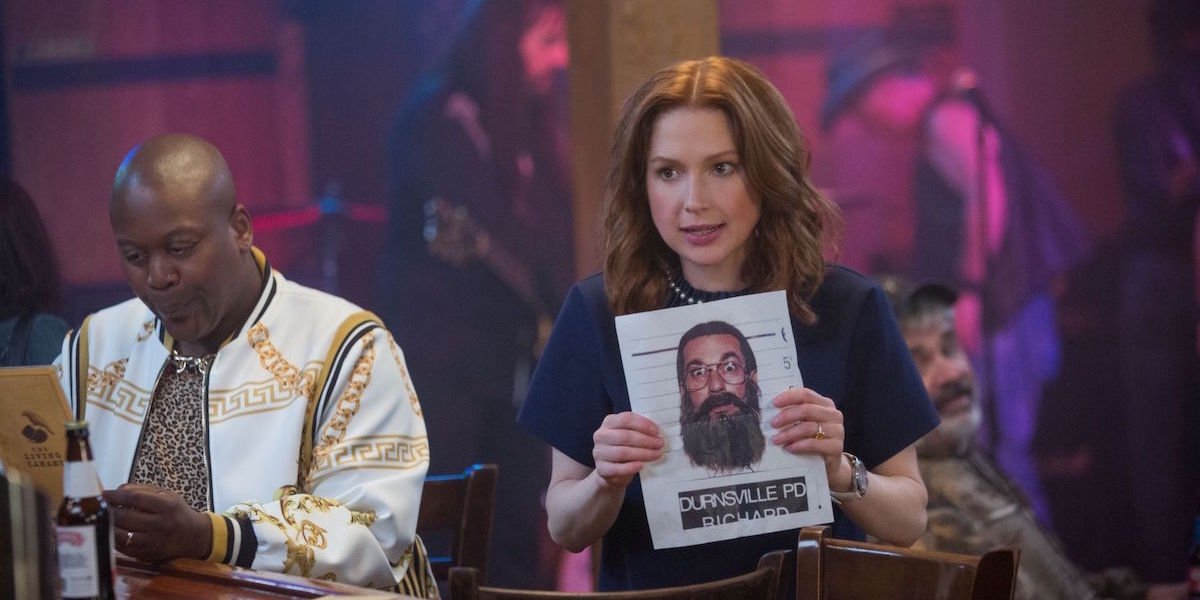 Kimmy Schmidt searching for The Reverend