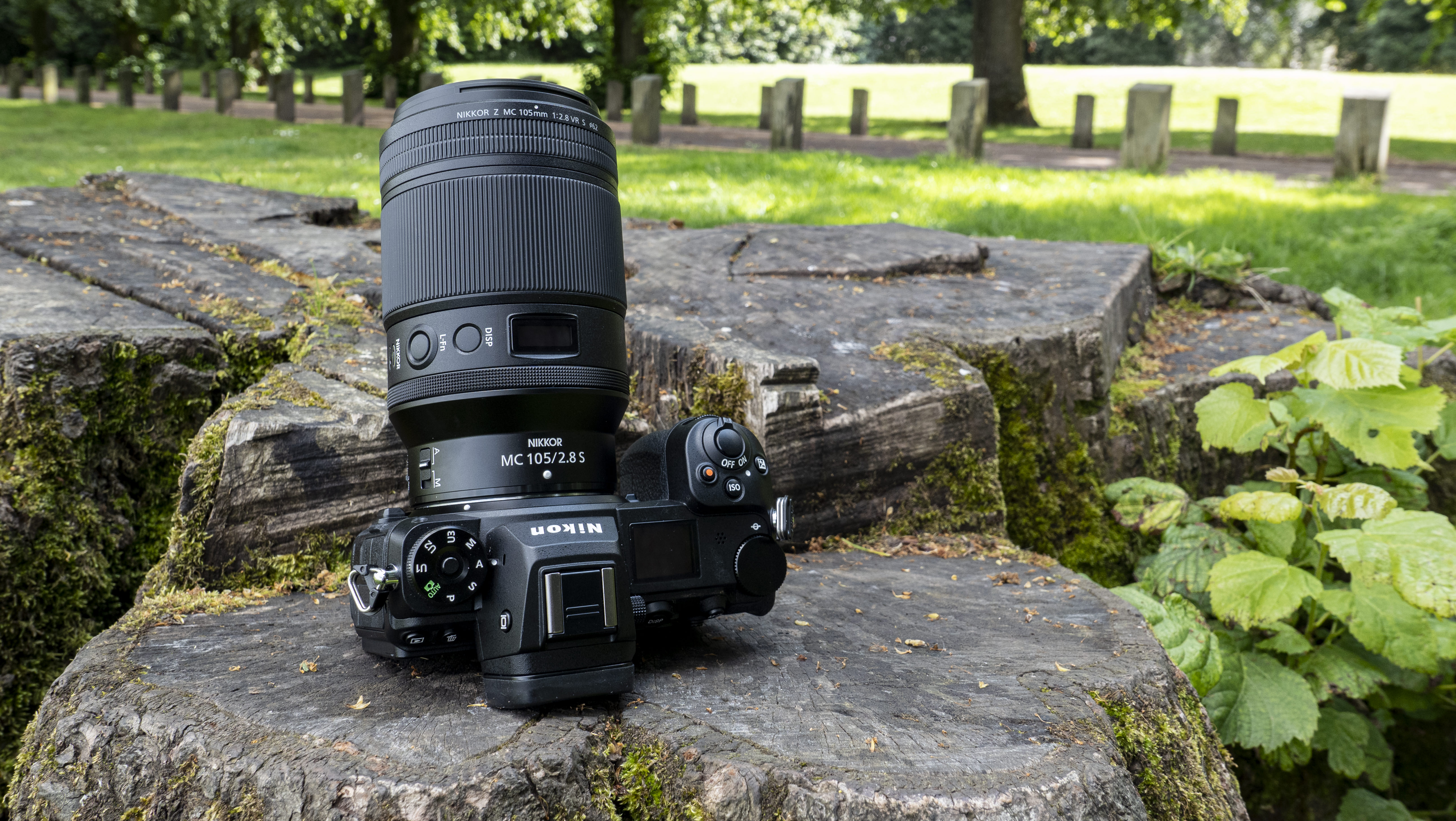 A Nikon Z7 II with the Nikon Nikkor Z MC 105mm f/2.8 VR S lens