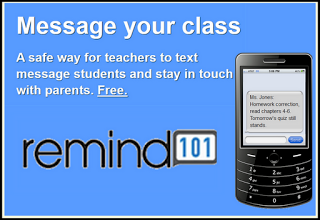 Remind 101 provides simple & free texting tool to enrich teaching and learning