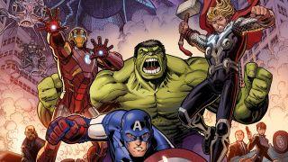 Marvel's Infinity Saga Phase 1 variant cover