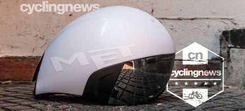 Met Codatronca TT helmet arranged in profile showing off its short-tail design blueprint