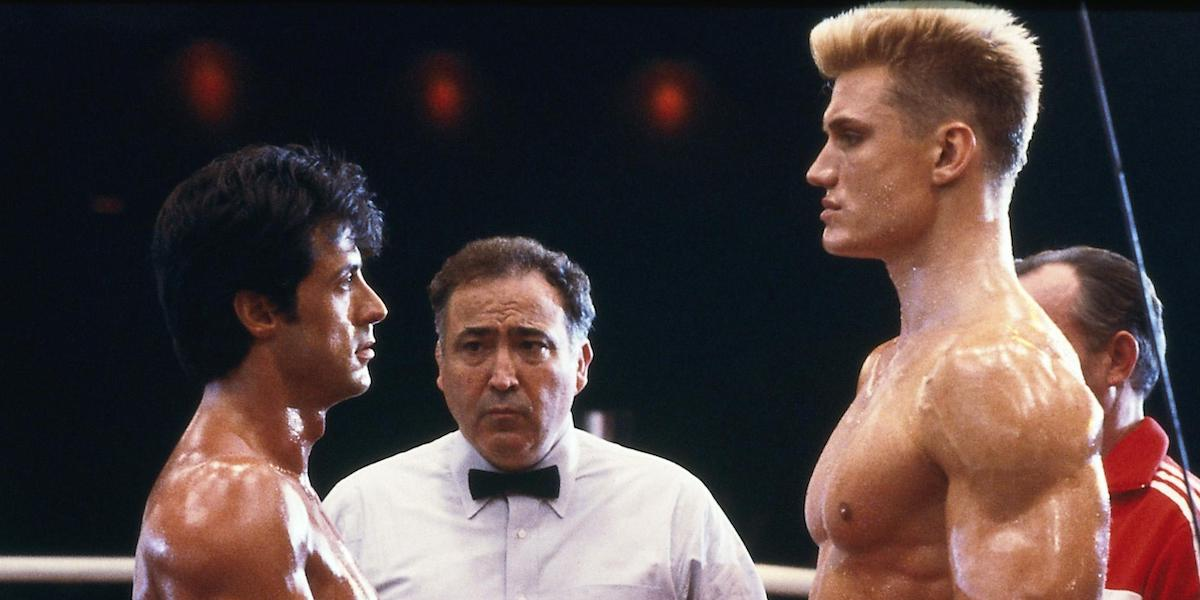 rocky and ivan drago rocky IV