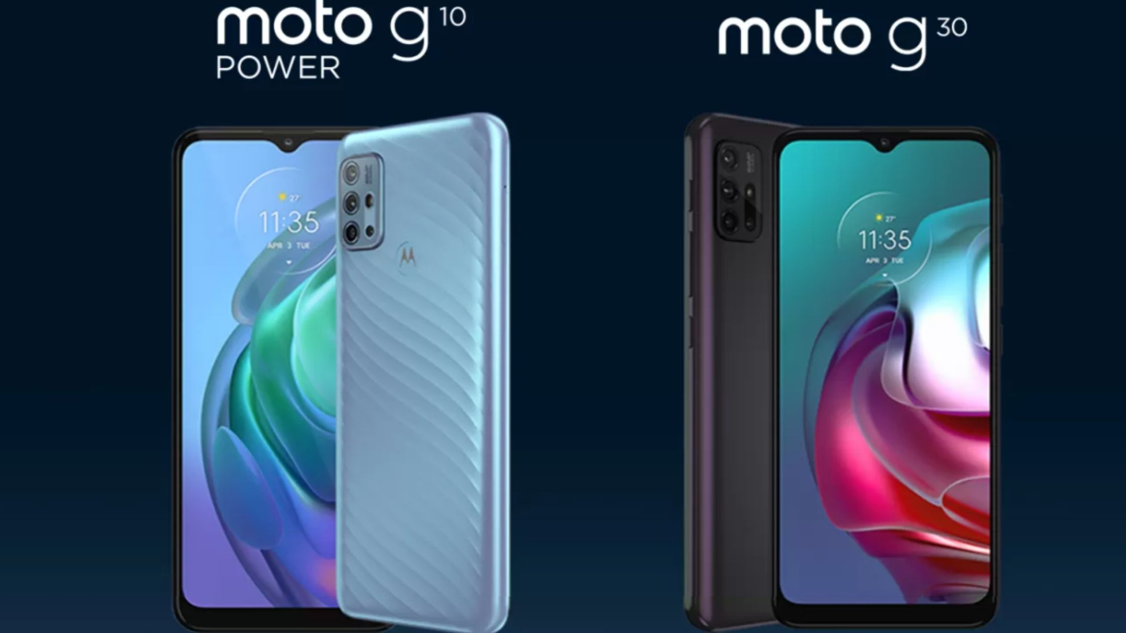 Moto G30 and Moto G10 Power budget phones launched in India