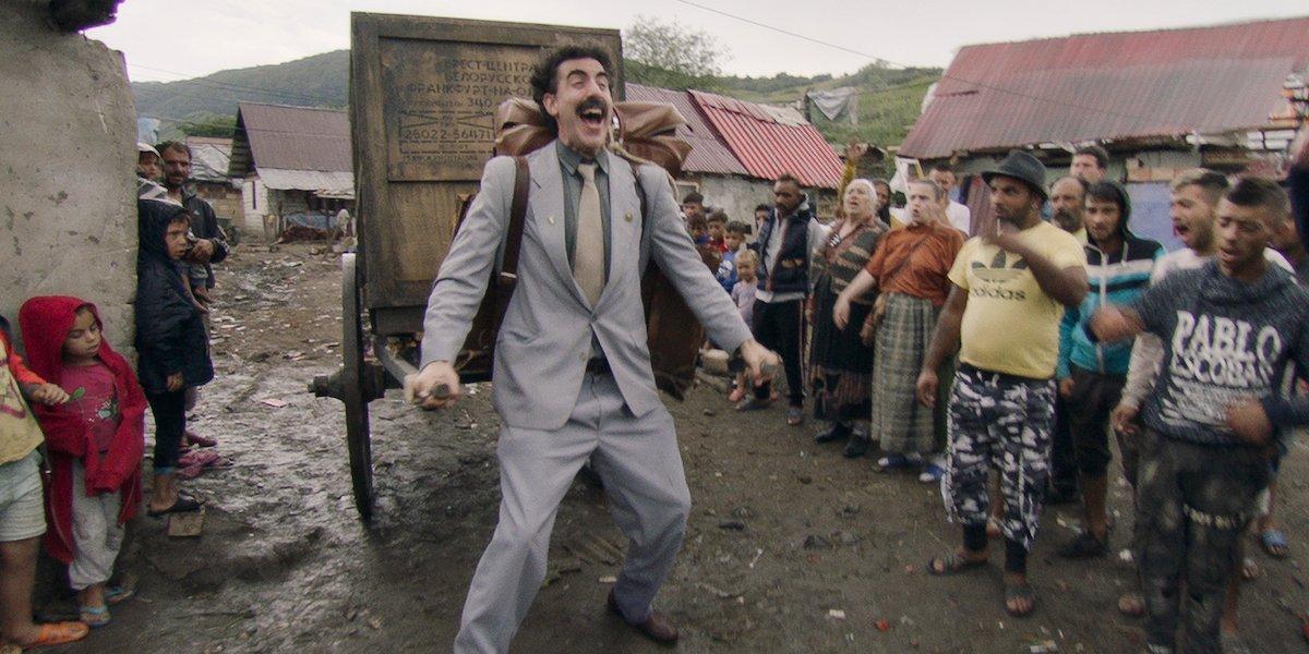 Sacha Baron Cohen in Borat 2