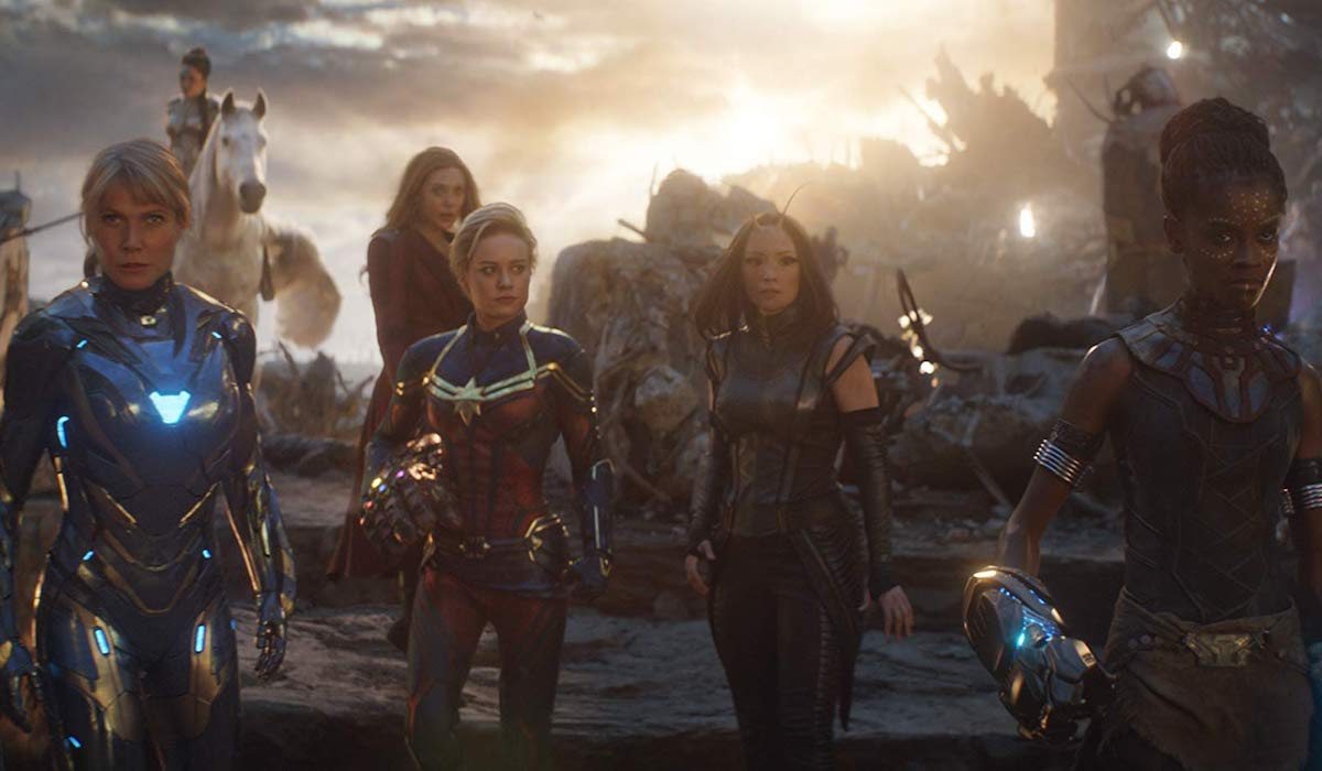 Female Avengers in Final Battle in Endgame