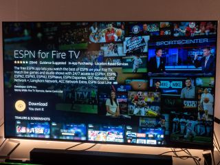 ESPN+ on Amazon Fire TV