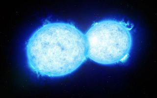 Hottest and Most Massive Contact Binary System